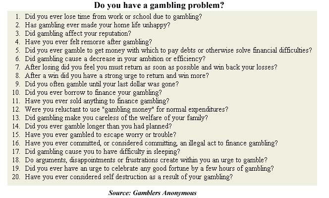 an analysis of compulsive gambling Compulsive shopping is an impulse disorder leading to the constant need to shop and purchase unnecessary or even unwanted items.