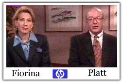 Hewlett-Packard names Carleton S  Fiorina CEO - Jul  19, 1999