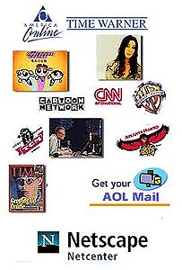 AOL and Time Warner to merge - Jan. 10, 2000