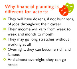 An important role in an actor's life: Planning for