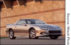 Gm Dropping Camaro And Firebird In 02 Sep 25 2001