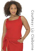 Liz Claiborne plus-size swimsuit