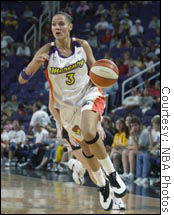 WNBA star Lisa Harrison held negotiations with Playboy about posing last year but decided not to.