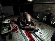 One of Doom III's gorier scenes.