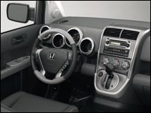 Honda Element dashboard