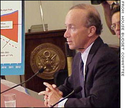Mitch Daniels, director of the White House Office of Management and Budget.