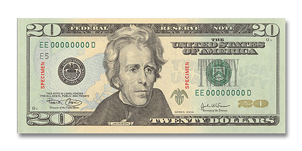 New $20 dollar bill look funny? - NASIOC