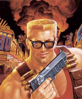 Gaming icon Duke Nukem