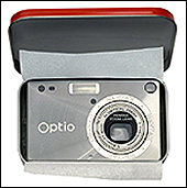 Pentax Optio S 3.2MP Digital Camera. Price: $399.99.