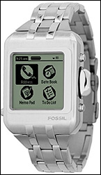 Fossil/PDA Wristwatch with built-in Palm OS technology. Price:$295