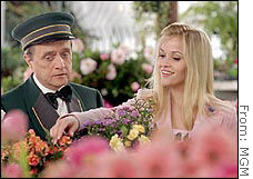 Bob Newhart and Reese Witherspoon star in 'Legally Blonde 2,' MGM's biggest movie of the summer.