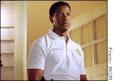 MGM is set to release Denzel Washington's next movie, 'Out of Time' in October.