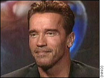 Arnold Schwarzenegger surprised many when he announced his candidacy on the Tonight Show.