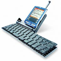 Palm's wireless keyboard, priced at $69.95. (Courtesy:Palm)