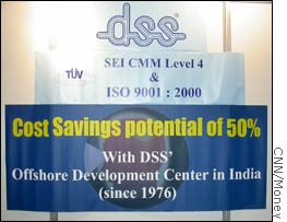 DSS promises big cost savings at OutsourceWorld