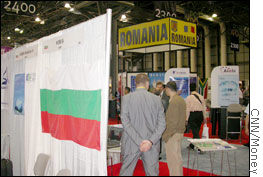Countries such as Bulgaria and Romania tout their advantages at OutsourceWorld