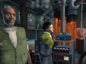 Hackers have leaked a playable version of Half-Life 2 onto the Internet.