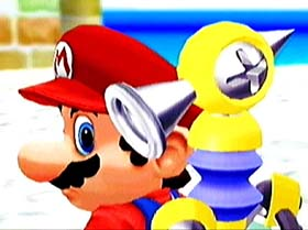 Mario's only GameCube appearance so far has been in