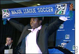 Freddy Adu is likely to hold up the MLS banner for only part of his career.