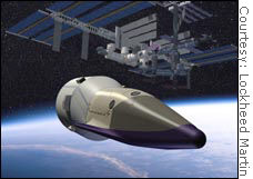 Contractors believe plans for a shuttle replacement won't be derailed by efforts to go to Mars or back to the moon.