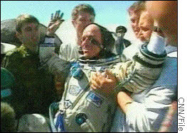 Dennis Tito's 2001 flight for $20 million was the first paid trip to outer space.