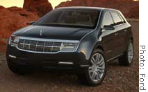 Lincoln Aviator concept vehicle