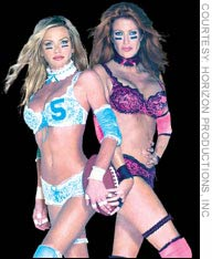 Some potential participants in Feb. 1's Lingerie Bowl.