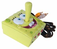 The new SpongeBob Squarepants TV plug and play gaming unit from Jakks Pacific.