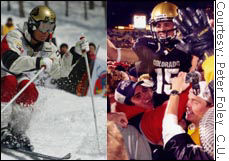 Jeremy Bloom's dream of competing in both mogul skiing and football are being tripped up by NCAA endorsement rules.