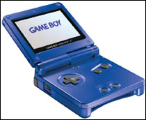 The DS will incorporate the 'clamshell' look of the Game Boy Advance.