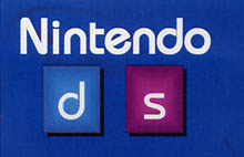 It figures. Right before they change the name, we finally get a logo for the Nintendo DS from the company.
