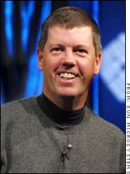 Sun Microsystems chairman and CEO Scott McNealy has been one of Microsoft's biggest critics.