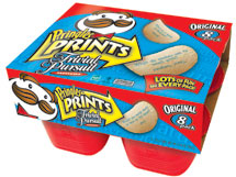 P&G expected to launch Pringles Prints next month.