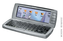 Nokia's 9500 Communicator phone