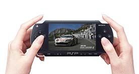 The PSP's sleek design won kudos, but Sony has refused to give a retail price.