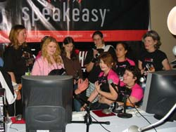 Some of the 2004 Ms QuakeCon contestants are interviewed by Inside the Game (Internet) radio