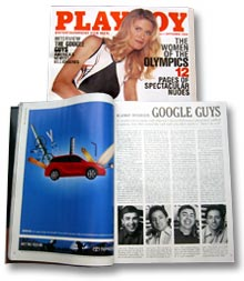 Google says in a filing Wednesday that the SEC wants more inforrmation about an interview its founders gave to Playboy magazine.