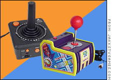 Jakks Pacific broght back retrogaming in its TV plug-and-play Atari and Namco gaming units.