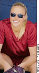 Sex appeal was one factor that helped softball pitcher Jennie Finch break out of the pack with advertisers.