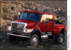 The CXT, the new monster pickup from heavy truck maker Navistar.