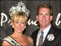 The Bealls: beauty queen Maria and hubby Michael
