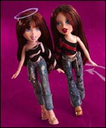 Bratz dolls are hip, edgy and flaunt an urban flair.