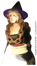 NY-based Abracadabra crowned this Martha costume as the 2004 Halloween Queen.(Price:$85)