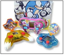 McDonald's Happy Meals will feature one of eight interactive videogame devices based on Sega's top-selling games.