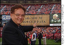 Monster Cable founder Noel Lee wasn't surprised by voters opposing against corporate names on the former Candlestick Park.