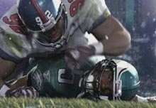 EA expects its next-generation football games to be much more detailed.