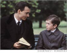 A best actor nod for Johnny Depp could give 'Finding Neverland' a lift.