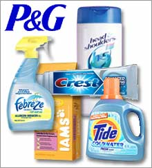 Procter & Gamble's big names...