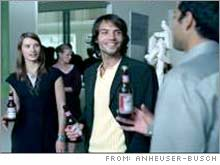 Anheuser-Busch plans to air eight 30-second and one 60-second commercials, promoting its Budweiser and Bud Light beers, during the Sunday broadcast.