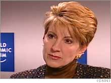 Carly Fiorina is leaving Hewlett Packard, effective immediately.